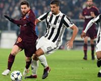 欧冠-巴萨0-0尤文提前晋级 梅西替补哑火