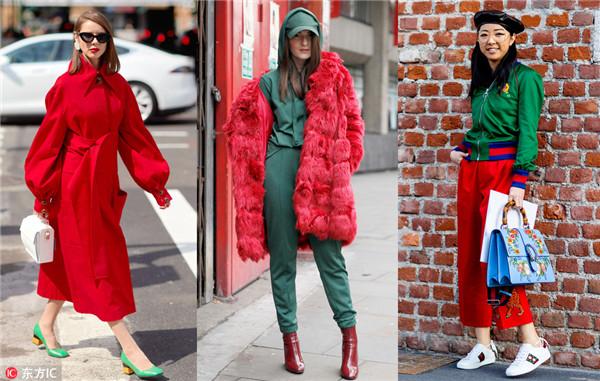 红配绿是对圣诞最起码的尊重  可你真的会搭配吗?