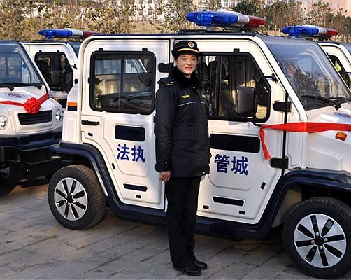 """合肥蜀山区城管交警联合执法车昨""""上岗"""""""