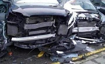 女子4S店连撞21辆豪车却有理不赔钱,店主哭懵了!