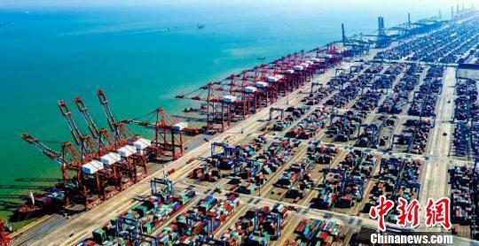 对接粤港澳大湾区 广州港和东莞港打造世界级枢纽港