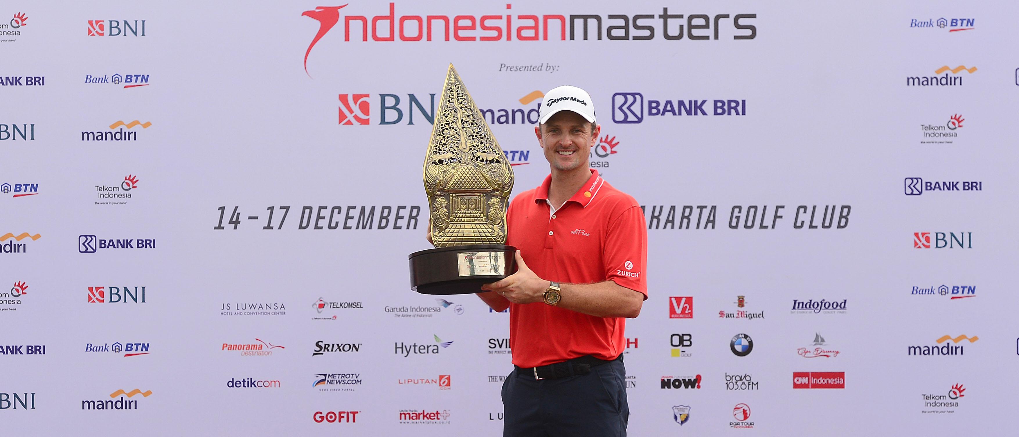 九鸟一鹰再交62杆 印尼大师赛罗斯8杆优势大胜