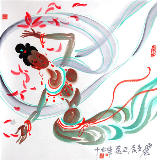 从事艺术创作50余年,曾任《飞天》文学月刊副编审,原甘肃省美术家协会图片