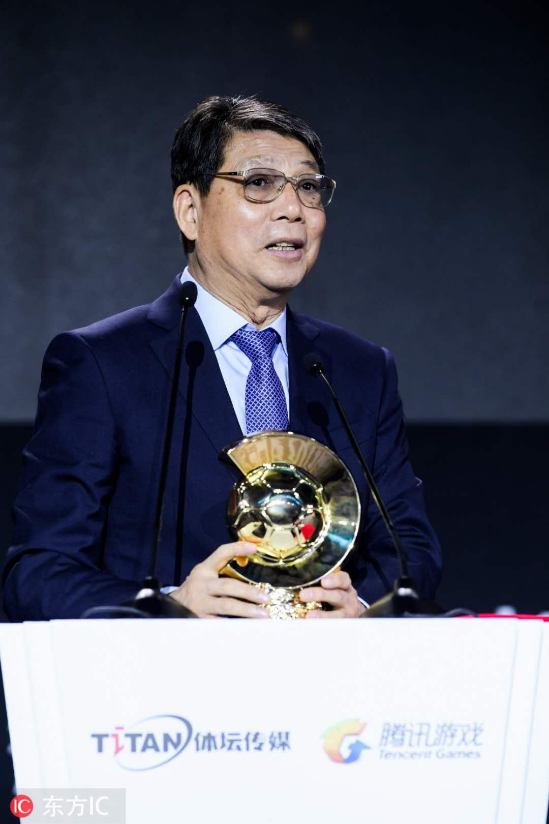 树立中国足球榜样 2017中国金球奖评选揭晓
