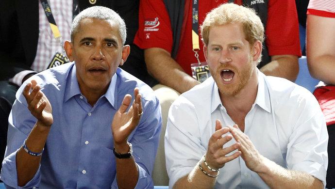 网上投注奥巴马接受哈里王子采访:我很庆幸自己40多岁才成名……