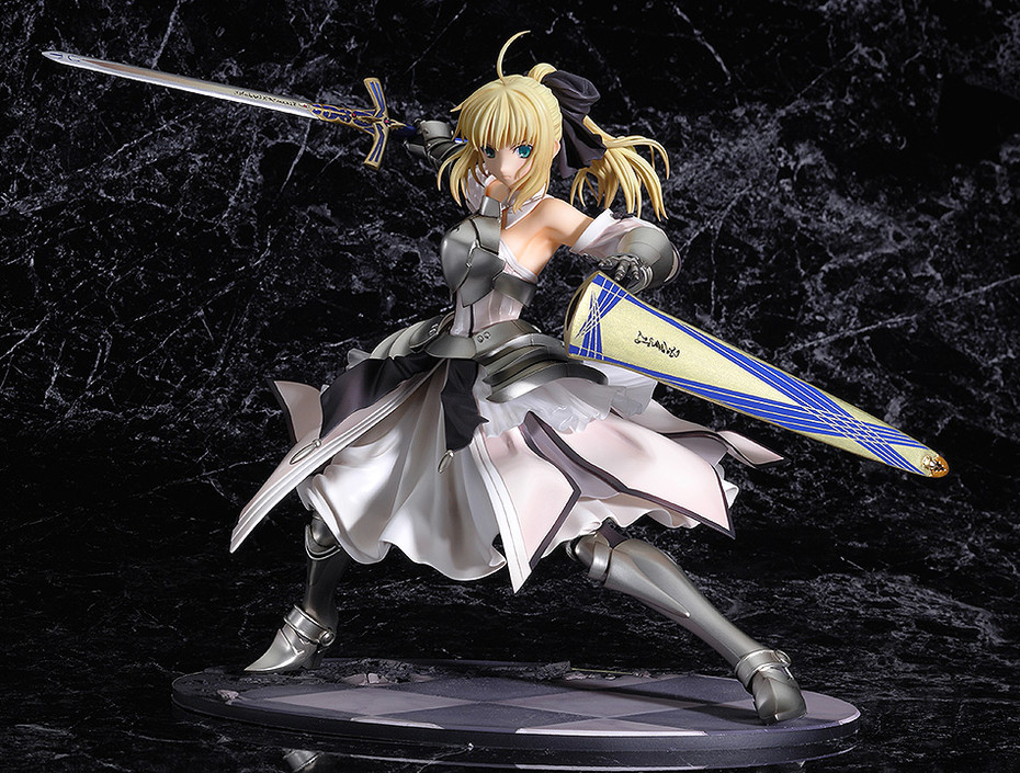 Fate/stay night 塞巴 saber 手办