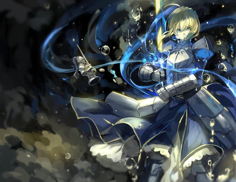 Fate/stay night 塞巴 saber