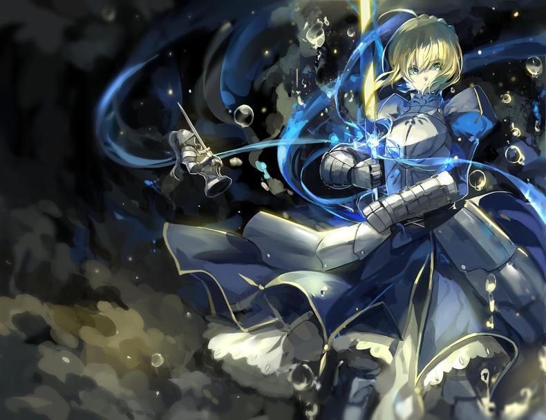 Fate/stay night 塞巴 saber