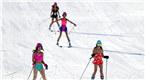 比基尼女郎助阵乌鲁木齐丝绸之路冰雪风情节