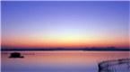 """""""颜值""""爆表景如画 句容二圣湖迎最美日出"""