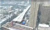 """中国8800吨大桥闹市""""转身"""" 刷新3项世界纪录"""