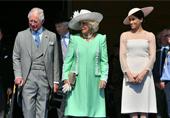 梅根王妃新婚后首现身