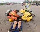 商丘市危險化學品道路運輸事故綜合應急救援演練現場會在柘城縣舉行