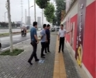 """商丘睢阳区文化办事处领导督导""""两城""""联创工作"""