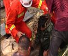 三名管道工井下缺氧相繼昏迷 商丘消防戰士五分鐘急速成功營救