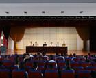 商丘商贸学校召开新学期全体教职工大会