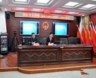 商丘睢阳区法院举行国防安全知识讲座