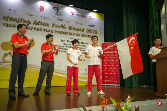 前国乒选手任冬奥新加坡团团长 带一名选手参赛