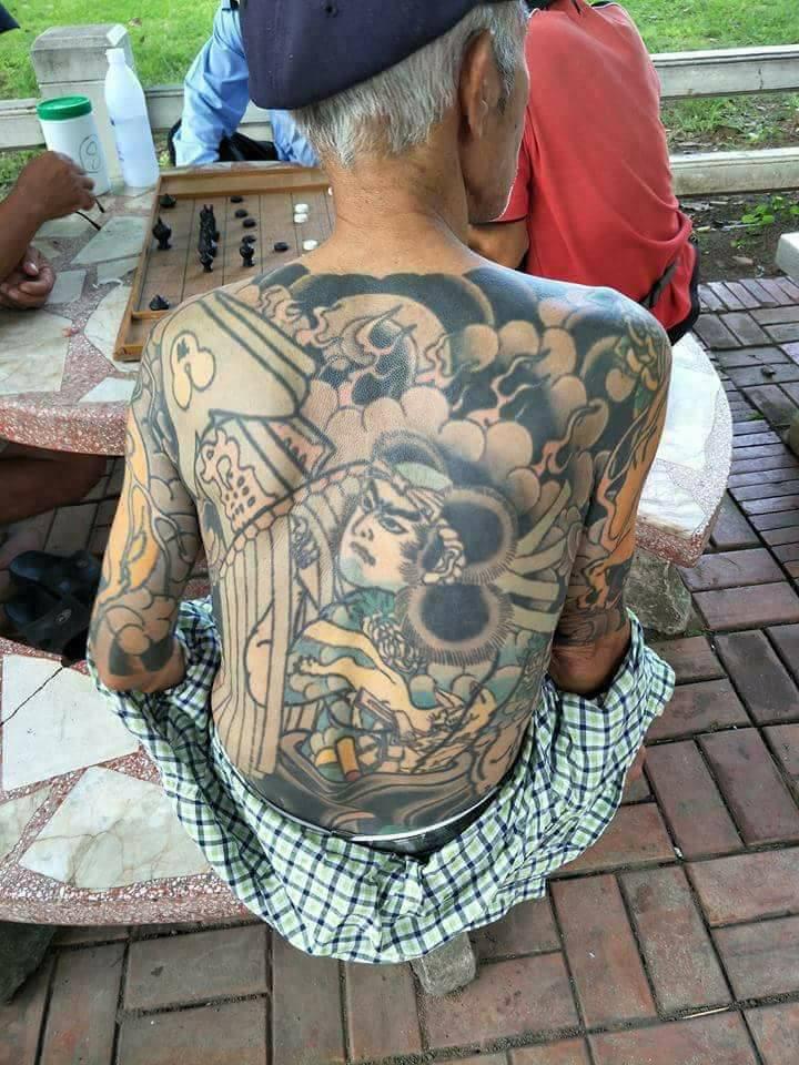 日本黑帮老大杀人逃亡泰国14年 被捕竟因纹身太帅
