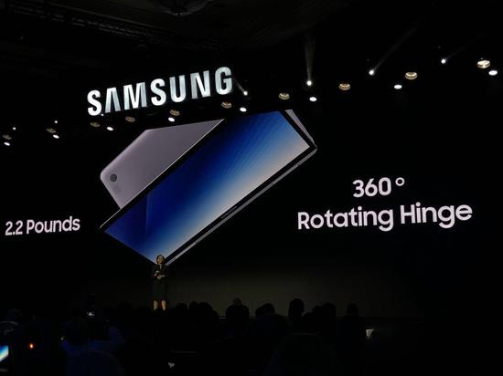 2018款三星笔记本采用了英特尔八代酷睿i7处理器