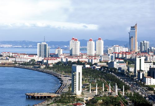 凤观青岛  威海市是全国投资硬环境40优城市,也是全国综合经济实力50