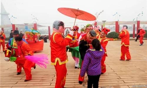 郑州绿博园中原大庙会又将惊艳登场 想体验民俗、看灯会的游客可不能错过