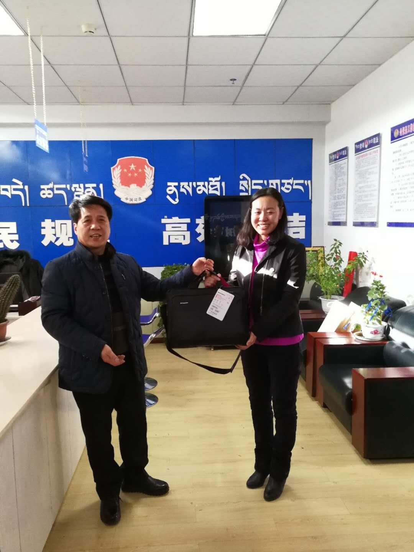 寒冬里送最温暖的礼物 西安市司法局领导赴藏