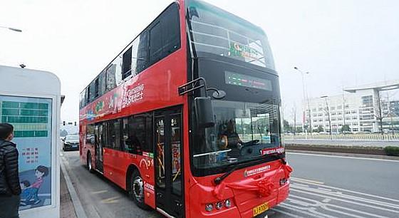 约起!双层观光巴士正式投入运行,全程设15个站点