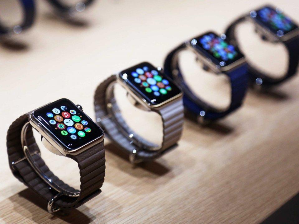 苹果智能手表出货量首次超过瑞士手表出口量