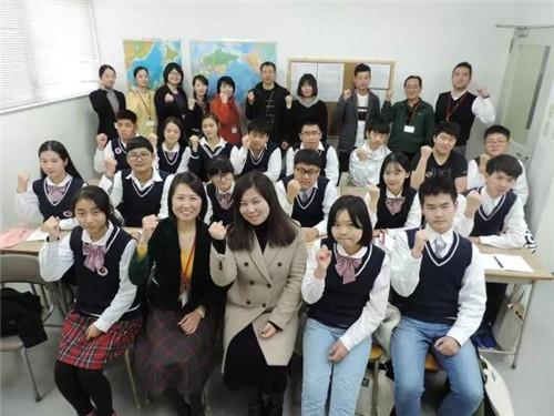 合肥世外地理日语班赴友好城市久留米研学之旅高中习题二v地理高中图片