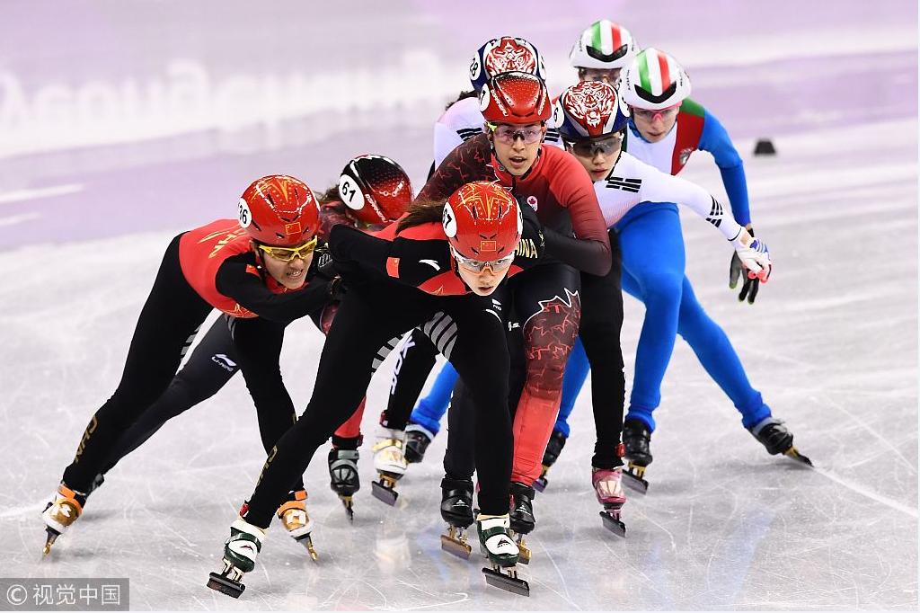 痛失奖牌!冬奥短道女子接力中国被判犯规 韩国夺冠