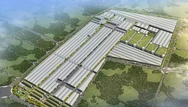 东鹏智能家居产业园建设规划图 成功引进德国利勃海尔总装基地,长城图片