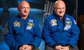 宇航员在太空呆一年 DNA和同卵双胞胎哥哥变不同