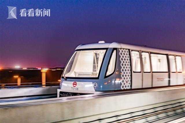 """上海首条全无人驾驶轨道交通""""浦江线""""通过试运营评审"""