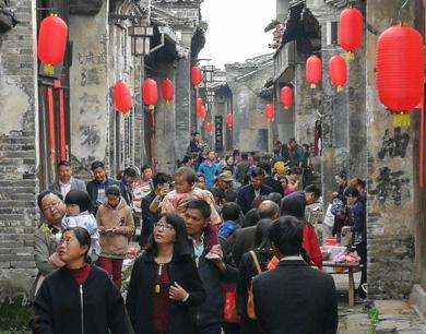 吉安:古村旅游节