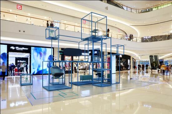 """上海万象城携手造作 打造""""漂浮的世界客厅""""装置展"""