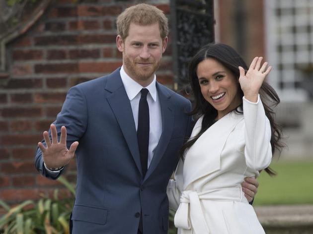 哈里王子大婚在即 将迎娶痴迷皇室的混血离婚女星