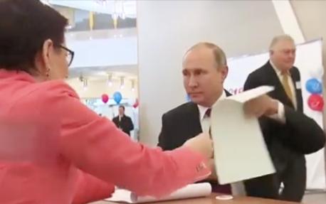 8名候选人参加角逐!俄总统大选拉开帷幕:普京亲赴现场投票