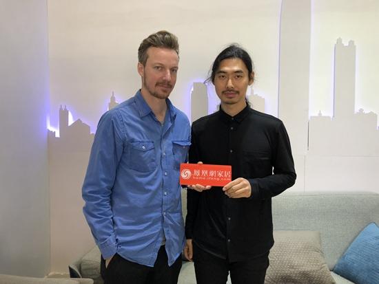 张雷&Christoph:把传统手工艺打破成元素重构 创作才会有更大的想象力