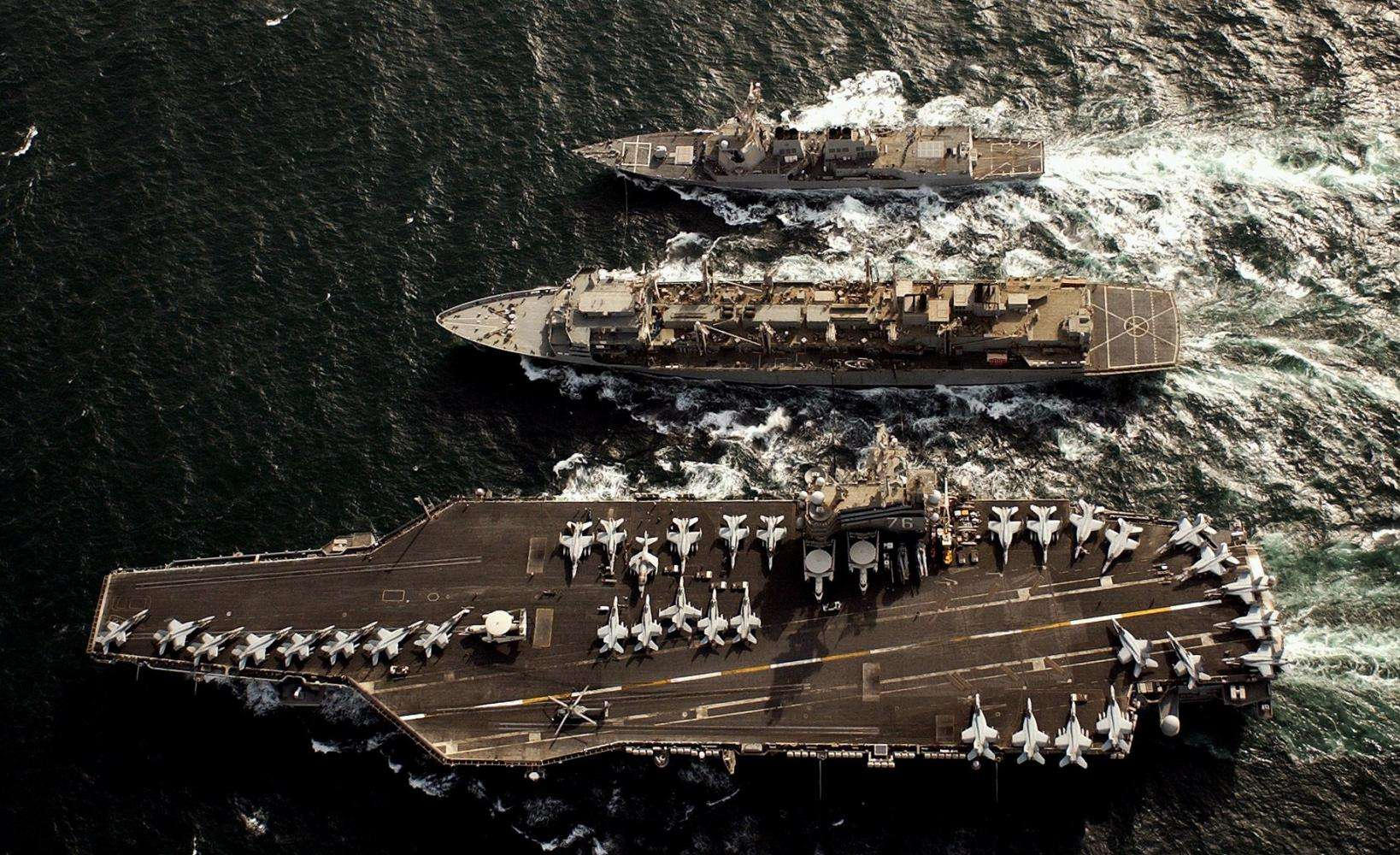 中国反航母的手段多 一招可瘫痪整个编队