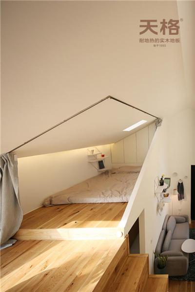 小空间巧设计 | 设计师史洋将原木风天格单品维京搬进28㎡蜗居