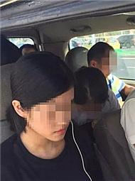 驾校学员结伴考试 1小时被交警抓住