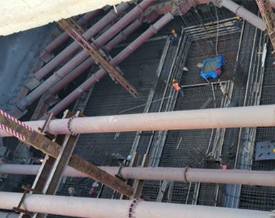 合肥地铁4号线首座车站顺利封顶