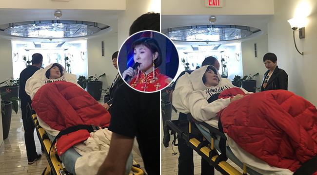 50岁歌手陈红疑患重病 被紧急送医面色苍白