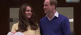 威廉王子第三子姓名确定 贵族头衔曝光