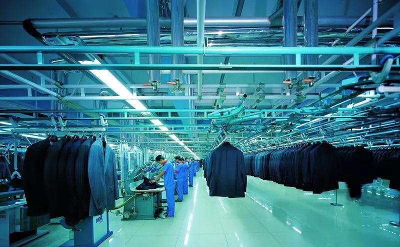 青岛酷特智能股份有限公司的车间内图片