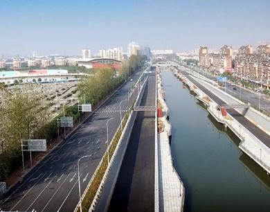 南昌前湖大道快速路预计12月底通车(图)