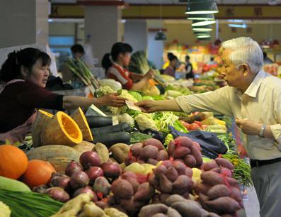 哈尔滨蔬菜零售价