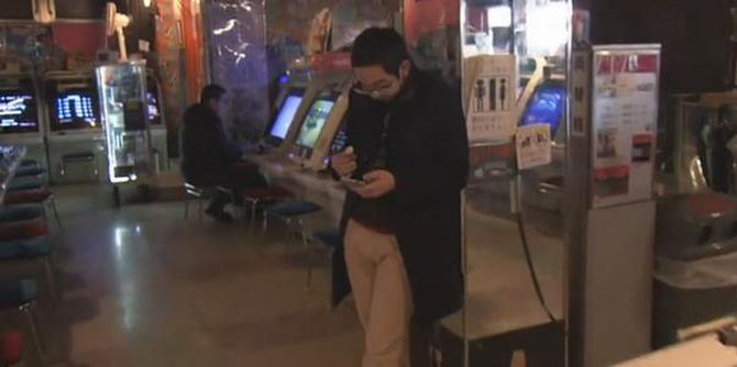 """忘却生活的烦恼 日本""""街机圣地""""的人生百态"""