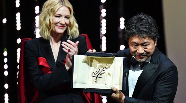 戛纳颁奖礼:是枝裕和捧大奖 女星台上控诉韦恩斯坦性侵